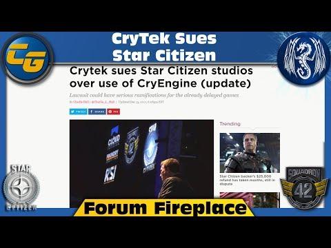 Forum Fireplace: CryTek Sues Star Citizen
