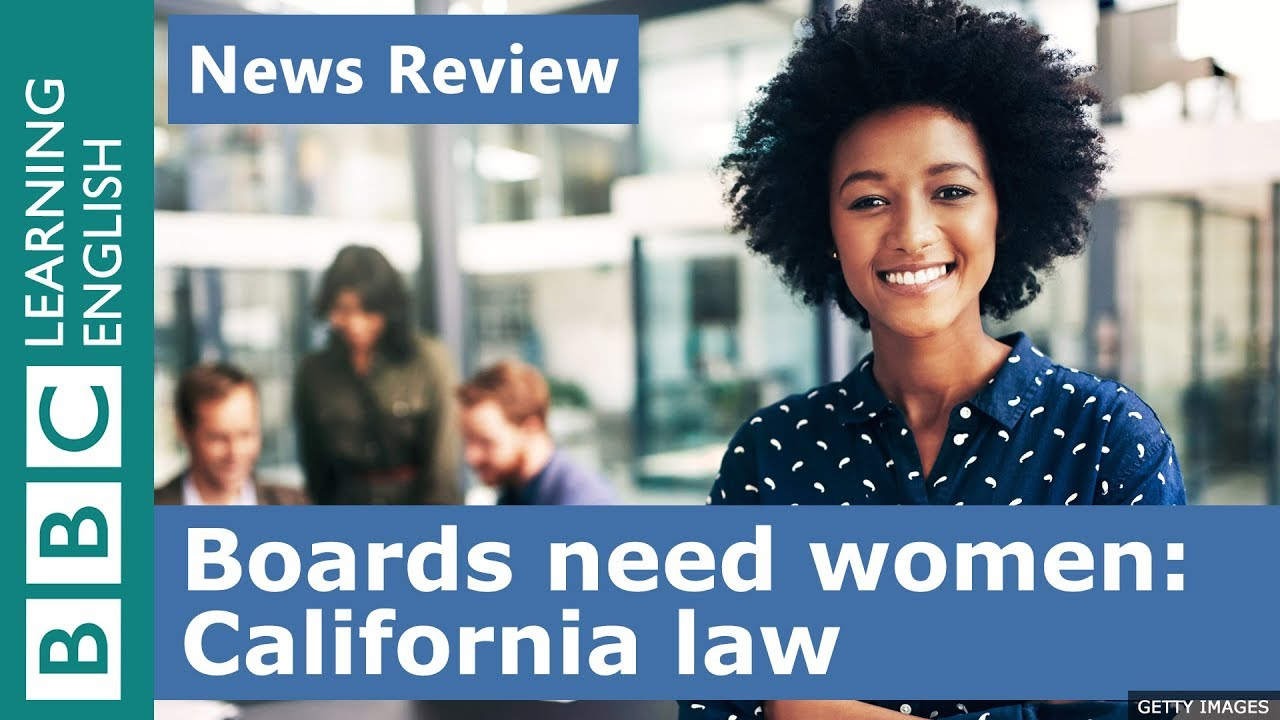California boards must have women: BBC News Review