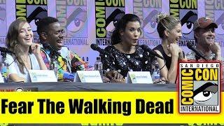 FEAR THE WALKING DEAD | Comic Con 2018 Panel (Lennie James, Alycia Debnam-Carey, Colman Domingo)