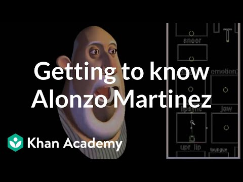 Getting to know Alonso Martinez   Character modeling   Computer animation   Khan Academy