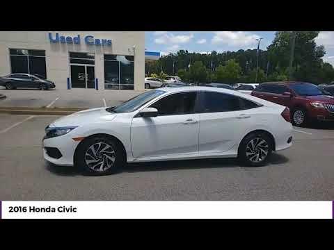 2016 Honda Civic Sedan EX Used P7096