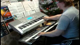 Chorale Prelude F-moll using PK-5 pedal MIDI keyboard