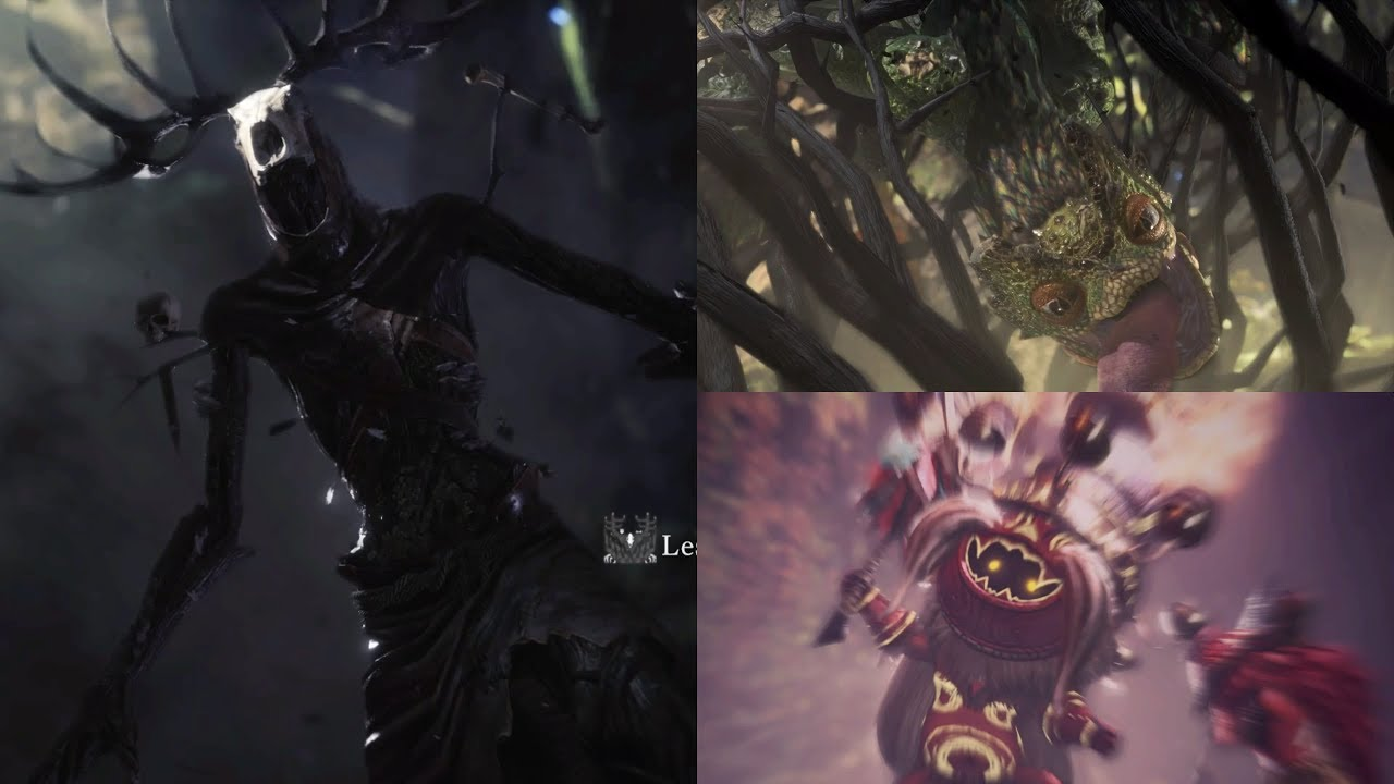 【MHW x 巫師3】支線任務x2 + BOSS決戰(毒妖鳥存活) + 完整結局 + 攻擊珠 - YouTube