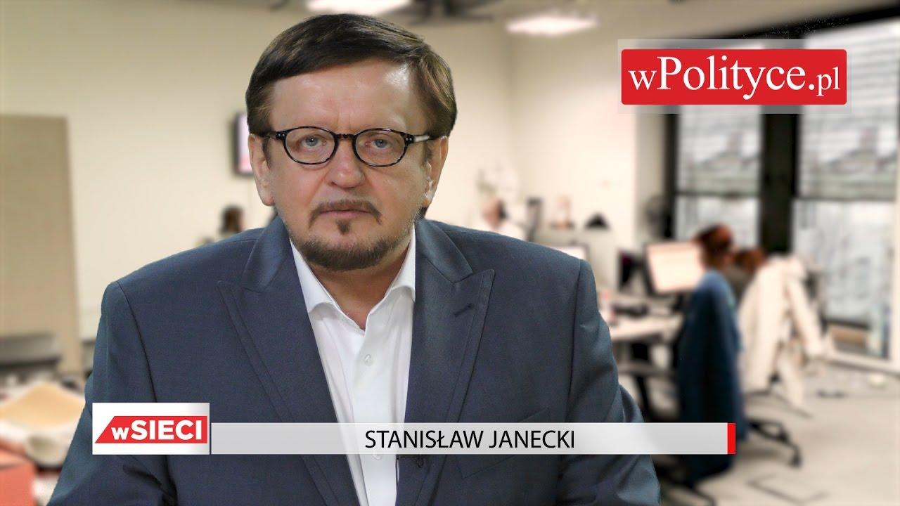O rządach celebrytów i sędziów opowiada Janecki