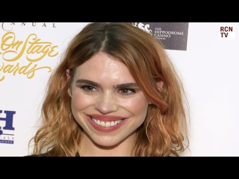 Billie Piper Wins What's On Stage Award 2017