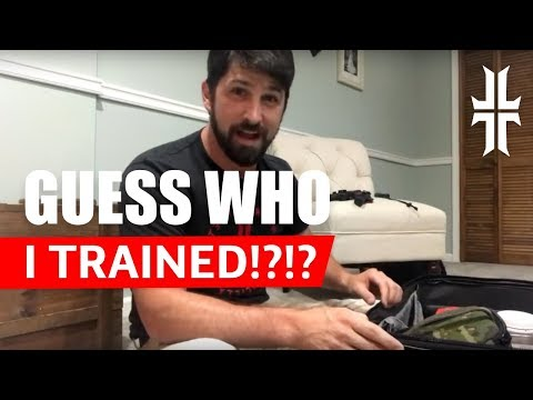 LIVE: You'll NEVER GUESS who I just trained!!!