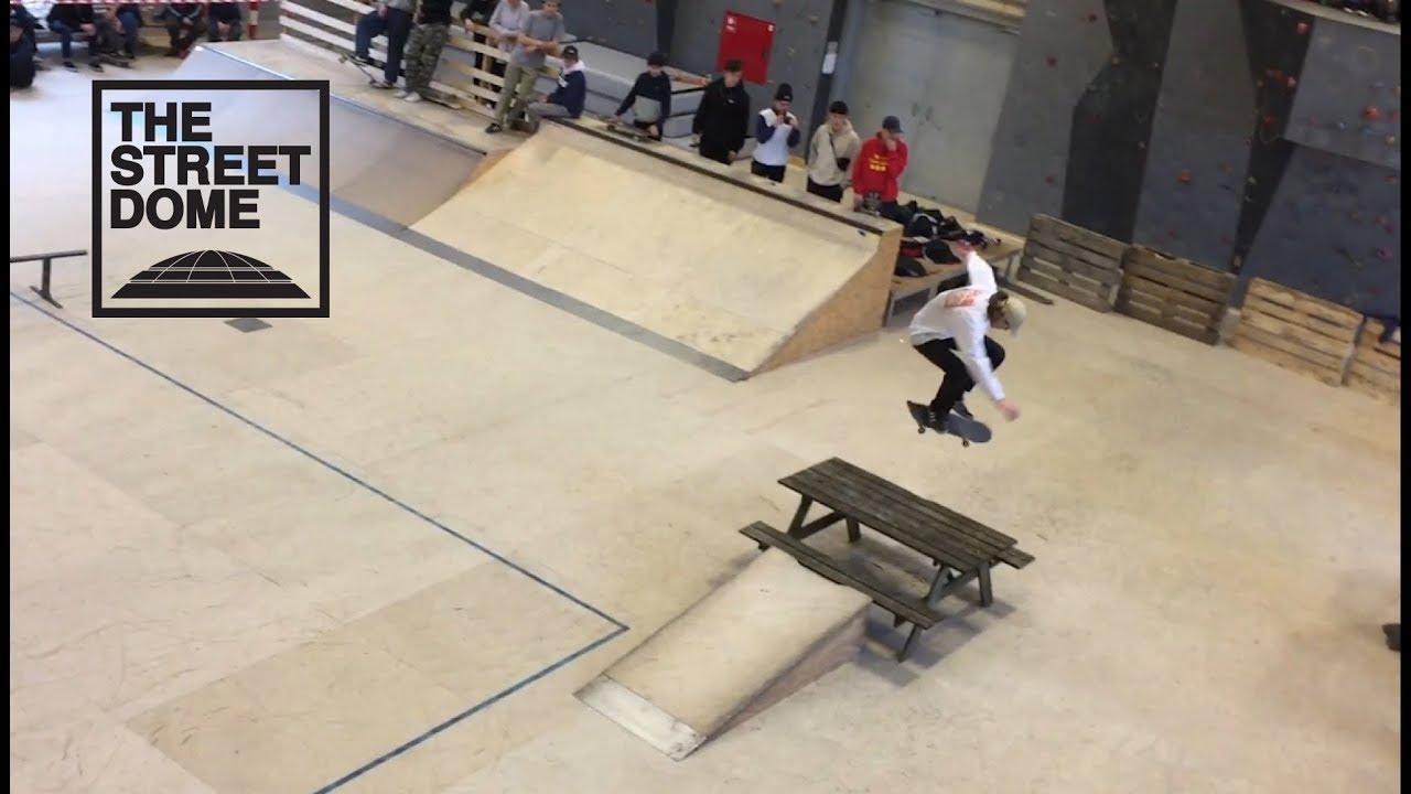 Skate contest på Billeshave Efterskole