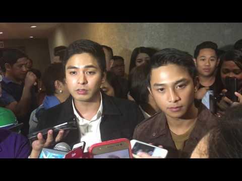 Coco Martin For His Brother's Film | Pamilya Ordinaryo | Cinemalaya 2016 | Ronwaldo Martin