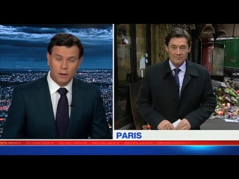 Mike Amor Paris Attacks Channel 7 Australia Los Angeles Bureau
