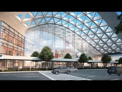 Convention center expansion on schedule