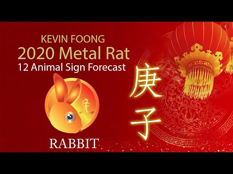 2020 Animal Signs Forecast: RABBIT [Kevin Foong]