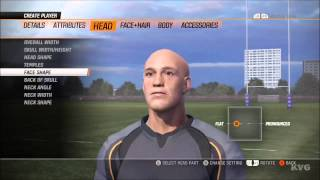 Rugby Challenge 2 - Customize Player [HD]