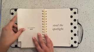 Flip Through Of My New Kate Spade Planner!