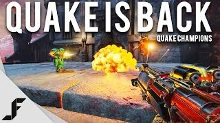 Quake Is Back   Quake Champions Gameplay   First Impressions