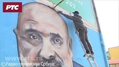 Mural u Nišu za pamćenje - budimo ljudi kao što je doktor Laza bio