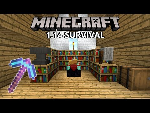 How To Get BEST ENCHANTS! Minecraft 1.14 Survival (Guide) | Ep. 5