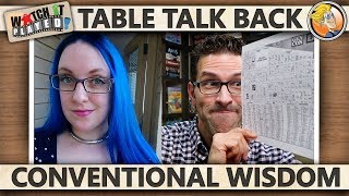 Table Talk Back - Conventional Wisdom