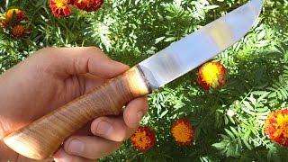 как сделать нож из дисковой пилы
