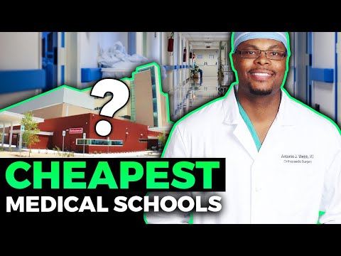 Medical Schools with the CHEAPEST tuition! - YouTube