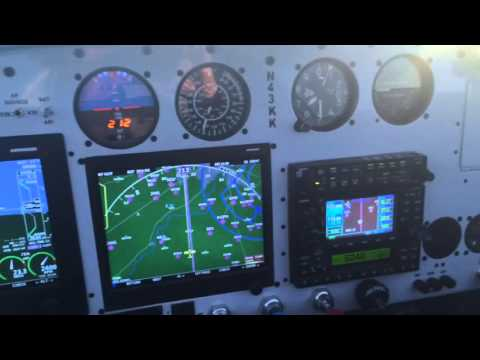 Van's RV9A flight to KLXT from KCID in 43KK