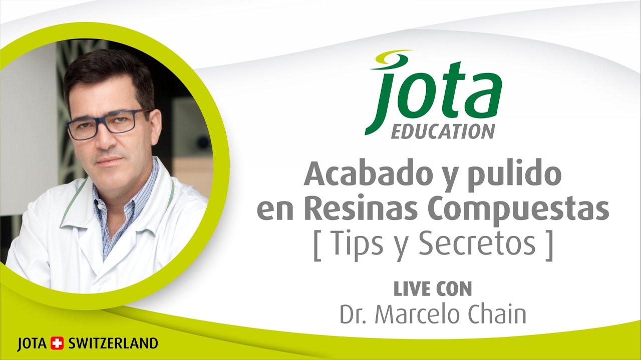 """LIVE DR.MARCELO CHAIN 🇧🇷! ACABADO Y PULIDO EN RESINAS COMPUESTAS ! """"Tips y Secretos"""""""