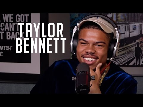 Taylor Bennett Rhymes, Talks about Being Chance's Brother & More with Rosenberg