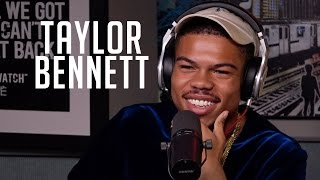 Taylor Bennett Rhymes, Talks about Being Chance