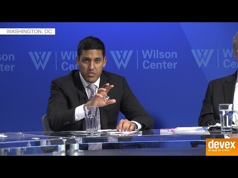Raj Shah says the private sector is welcome in all areas of development