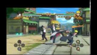 (sasuke vs naruto) Naruto Ultimate Ninja Storm 3 full burst (PC)
