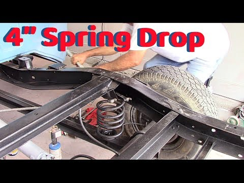 chevy c10  4''drop on rear