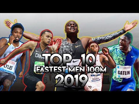 Top 10 Fastest Men 100m 2019 - Sprinting Montage