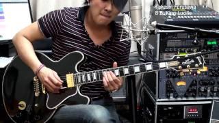Rock Me Baby BB King  Lucille 古澤剛 Takeshi Furusawa Gibson ギブソン ルシール ギブソン 検索動画 26