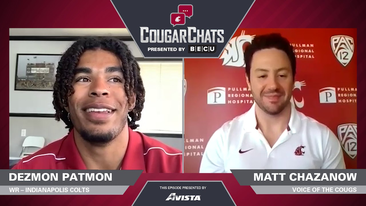 Image for WSU Athletics: Cougar Chats with Colts WR Dezmon Patmon webinar