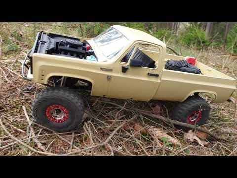 Scalemonkey Cab Back For RC4WD Blazer Body Crawler