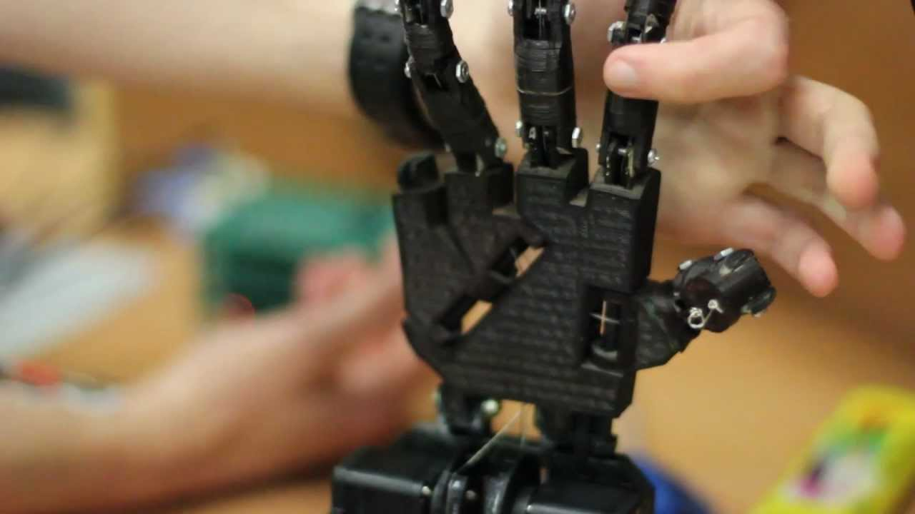 Electrical Project - Control Systems Prosthetic Hand - YouTube