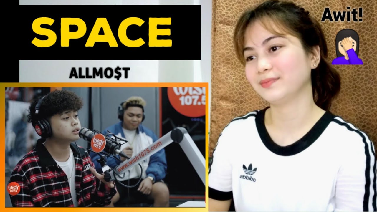 """""""Space"""" by ALLMO$T LIVE on Wish 107.5 Bus (REACTION)"""