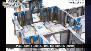 [Infinity Scenery] TME Corridors (Plast Craft Games)