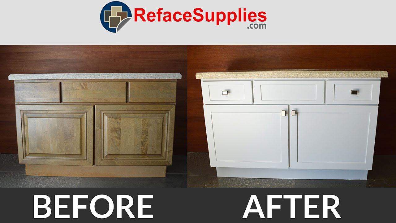 Cabinet Refacing In 1 Minute Refacing Time Lapse Youtube