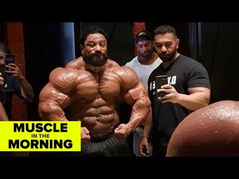 WHAT THE...ROELLY?! Muscle in the Morning (8/13/18)