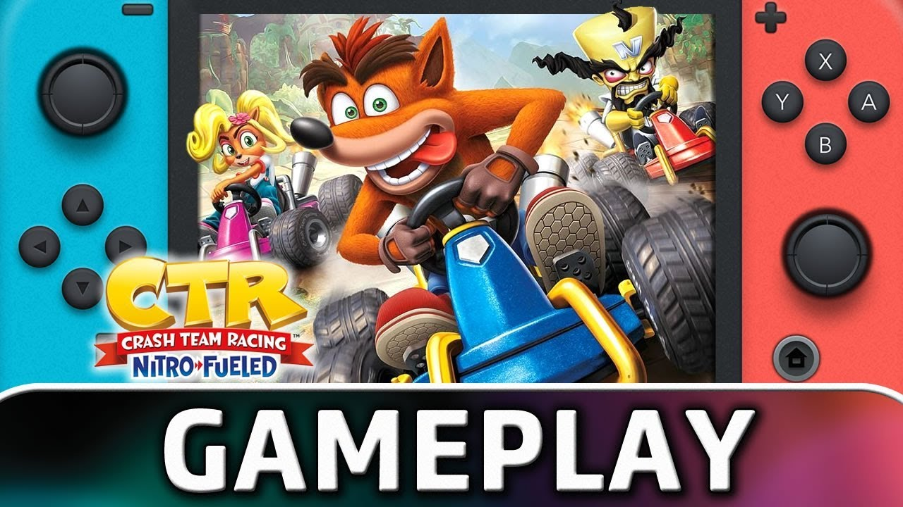 Crash Team Racing Nitro-Fueled | First 20 Minutes on Nintendo Switch