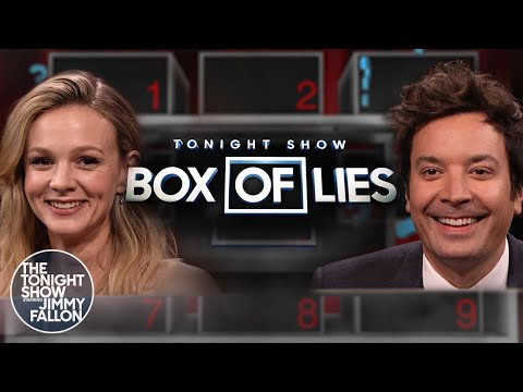 Box of Lies with Carey Mulligan | The Tonight Show Starring Jimmy Fallon