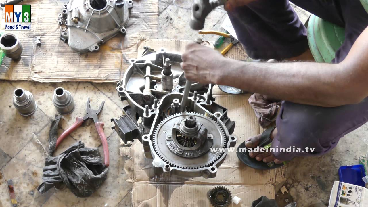 110cc 4 Wheeler Engine Diagram Bike Engine Repairing Bike Mechanic Youtube