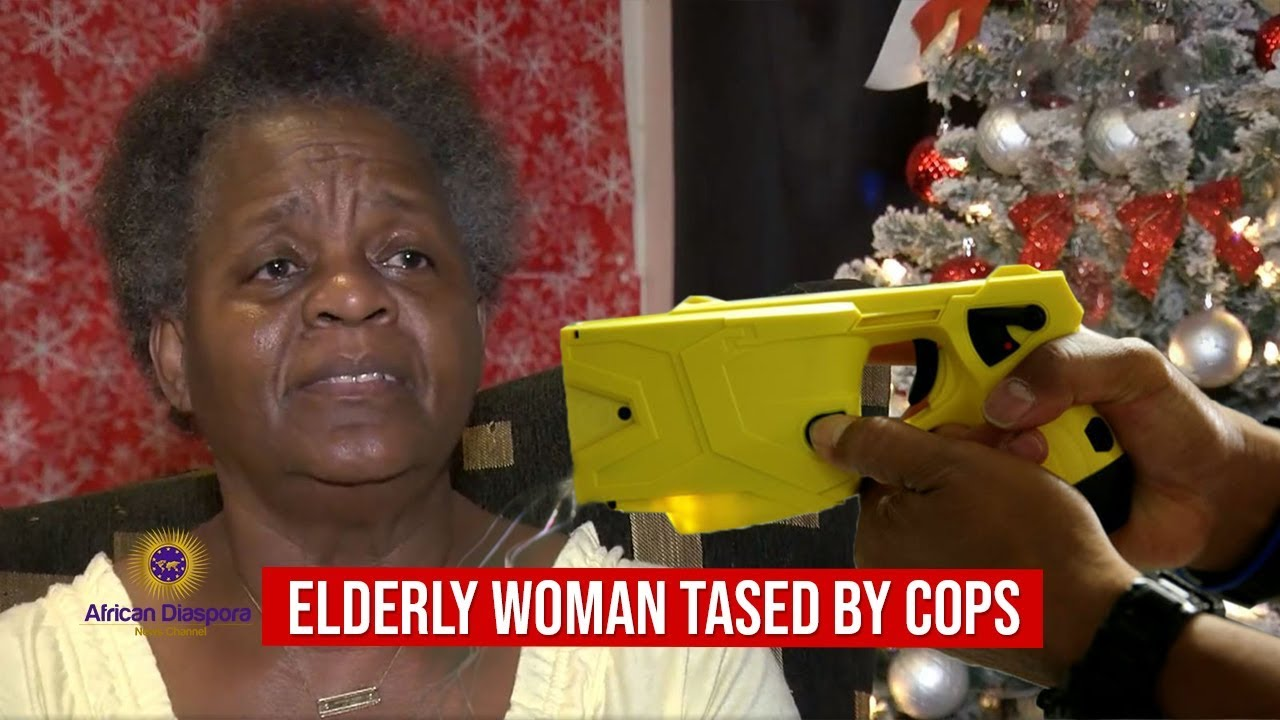 70 Yr Old Woman Tased By Manatee County Sheriff's Deputies Trying To Force Their Way Into Her H