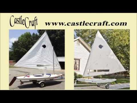 CastleCraft Small Sailboat Trailer For Holder, Snark