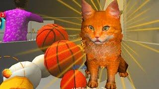 Играем в СИМУЛЯТОР КОТА 🐱🐱🐱 #25 Кот в магазине  мульт-игра про котят развлекательное видео
