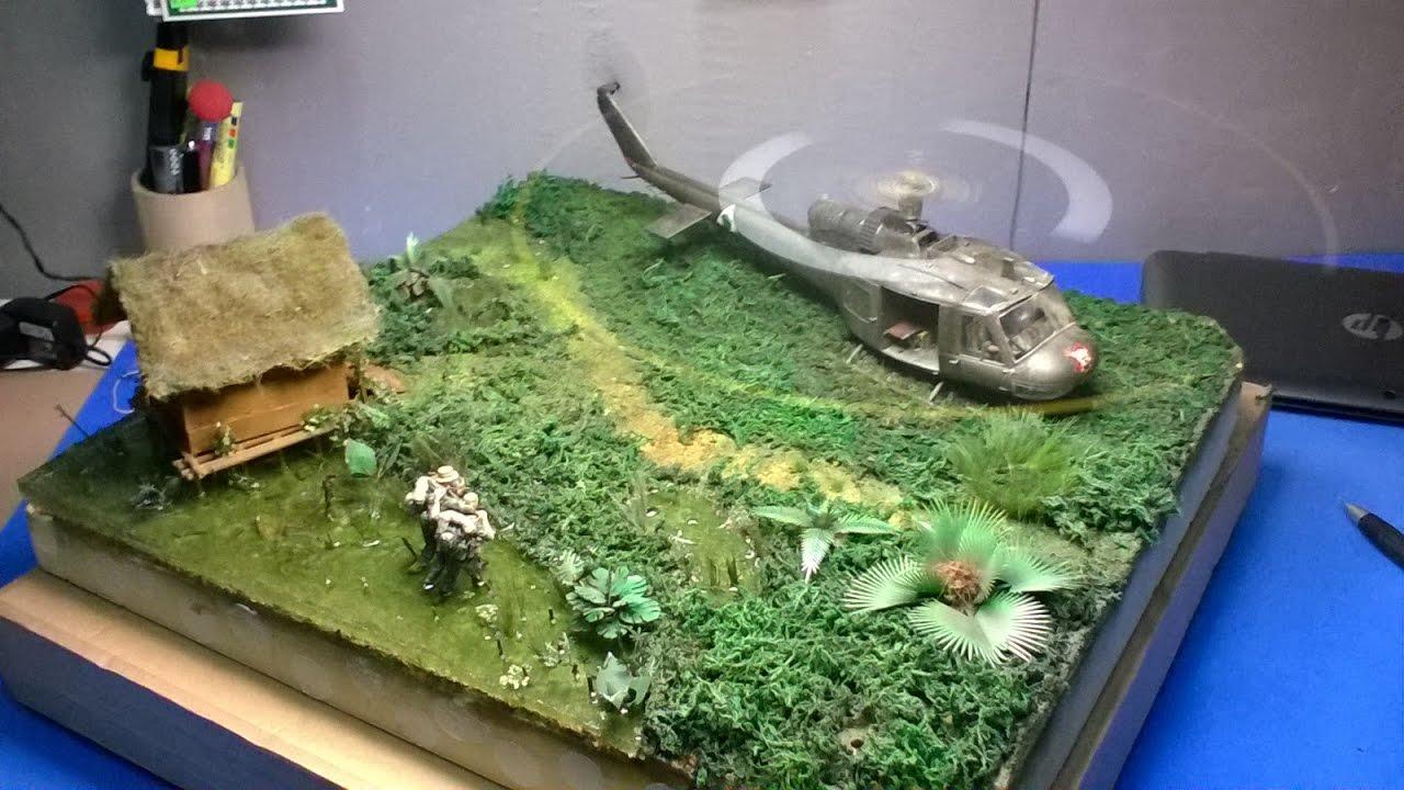 Diorama Huey Vietnam