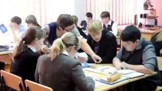 Видеофрагменты урока казахского языка в 10 классе