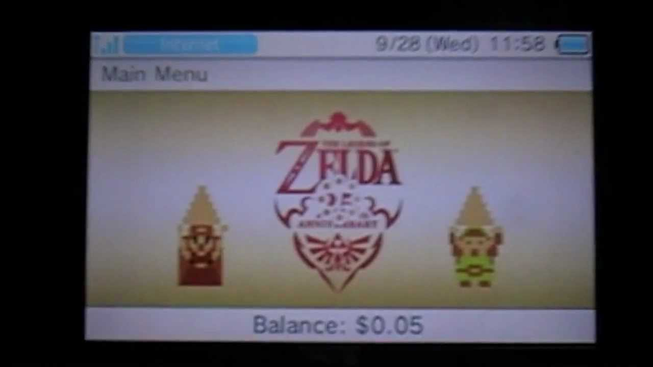 The Legend of Zelda Four Swords 3DS Download