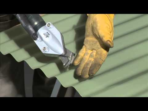 Tscm Corrugated Roof Shear By Malco Youtube