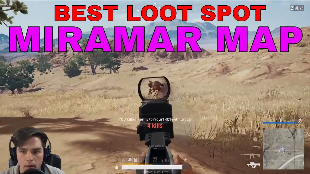 Playerunknown S Battlegrounds Maps Loot Maps Pictures: HOLY LOOT! The Best Loot Spot In Miramar: PUBG Desert Map